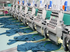 commercial-grade textile embroidery machines